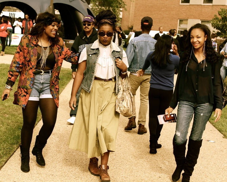 Classic black college fashion howard university fashion for College fashion