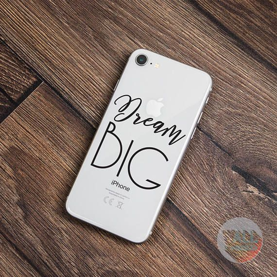 Check out this item in my Etsy shop https://www.etsy.com/listing/559949109/dream-big-iphone-sticker-iphone-decal