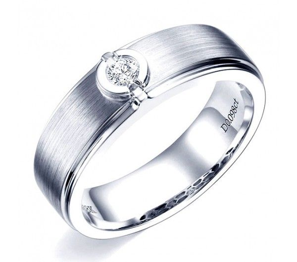 1000 Ideas About Bague Solitaire Or Blanc On Pinterest