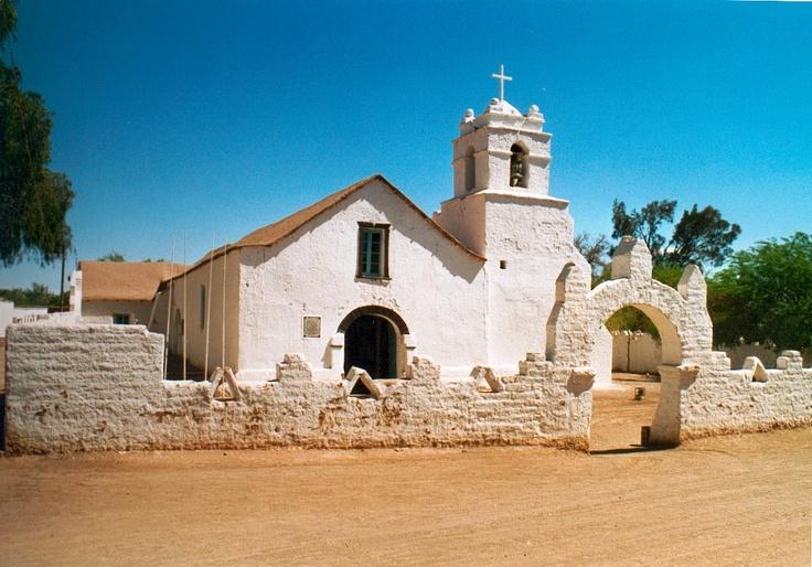 Beautiful town of San Pedro de Atacama, Chile