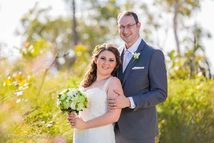 Carike & Francois looking stunning on their wedding day @kingfisherbay