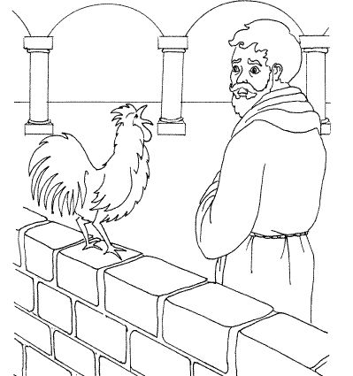 Simon Peter Coloring Page