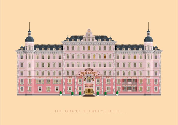 Frederico Birchal, The Grand Budapest Hotel, Famous Movies & TV Shows Setting, 2015