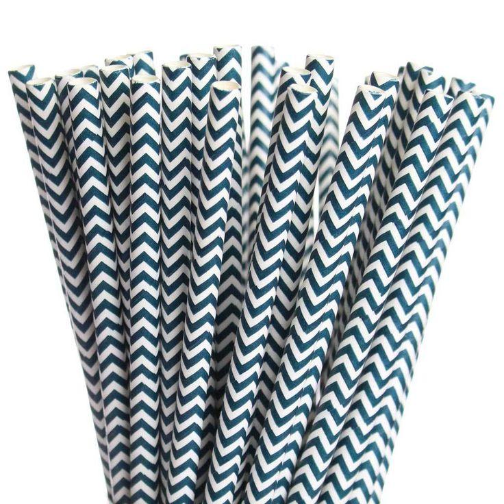 Greenmunch - Paper Straws - Dark Blue Chevron, $4.00 (http://www.greenmunch.ca/paper-straws/standard-length/chevron/paper-straws-dark-blue-chevron/)