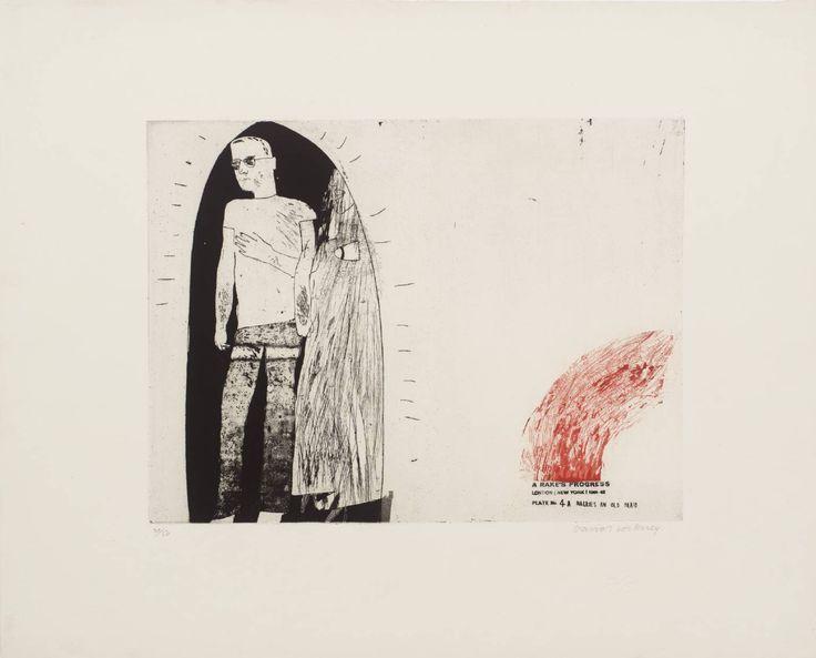 David Hockney '4a. Marries an Old Maid', 1961–3 © David Hockney