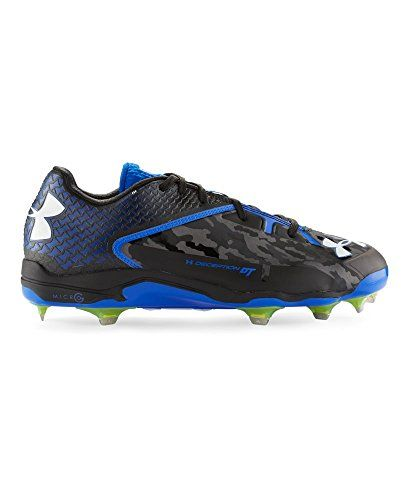 9d428f65ed8e Under Armour Mens UA Deception Low DiamondTips Baseball Cleats 115 Black      Want to know more