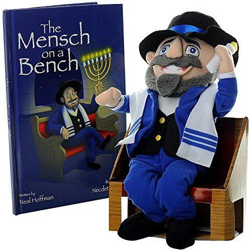 Mensch on a Bench - totally blows Elf on a Shelf away!!!!