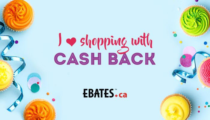 LOVE getting paid to shop with Ebates.ca! ❤️