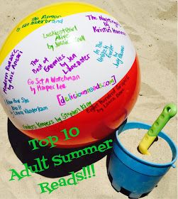 Get Your Summer Sizzle On--Top 10 Adult Summer Reads!/Delicious Reads