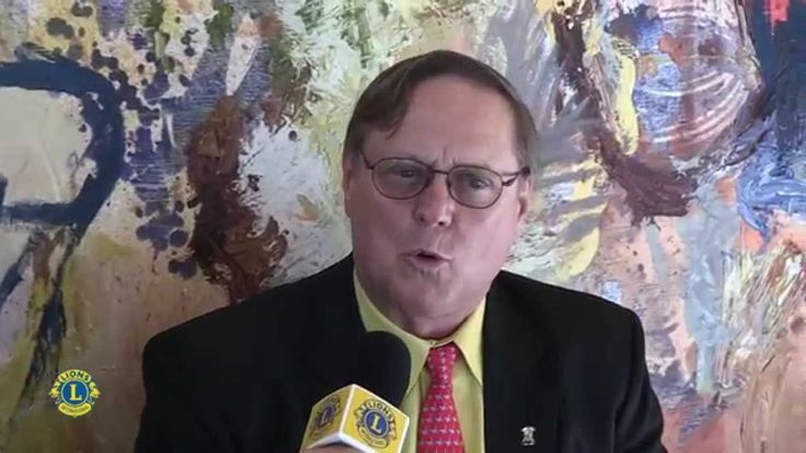 Interview in English with LCIF Chairperson Joe Preston.