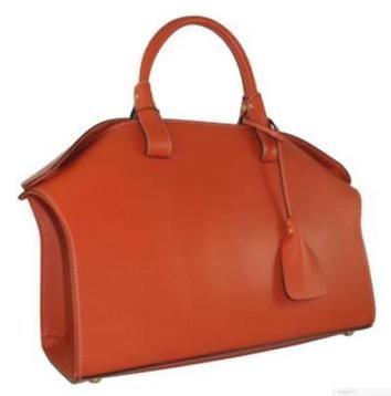 Super stijlvolletote handtas in oranje of zwart. Prachtig kalfsleer, handgemaakt in italie. Conceptstore@lucci.nl
