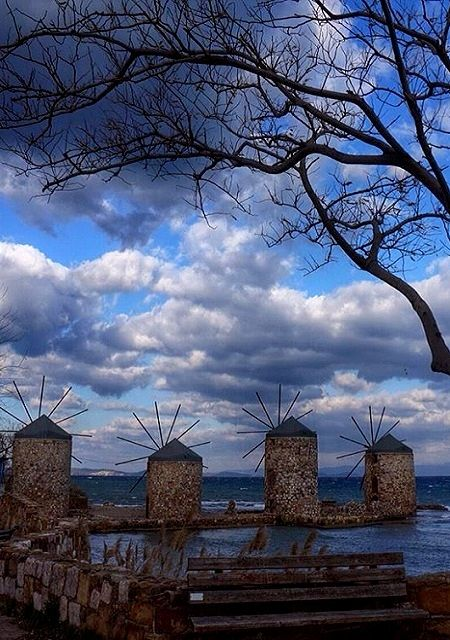 winter mood.. Chios Island, Greece | by lenadiomidous