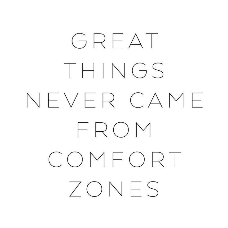 Great things never came from comfort zones • #mapsandletters_motto