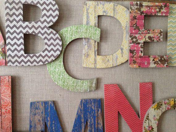 Best 25+ Alphabet wall ideas on Pinterest | Playroom decor, Animal ...
