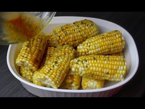 (45) Oven Baked Corn with Honey Butter - I Heart Recipes - YouTube