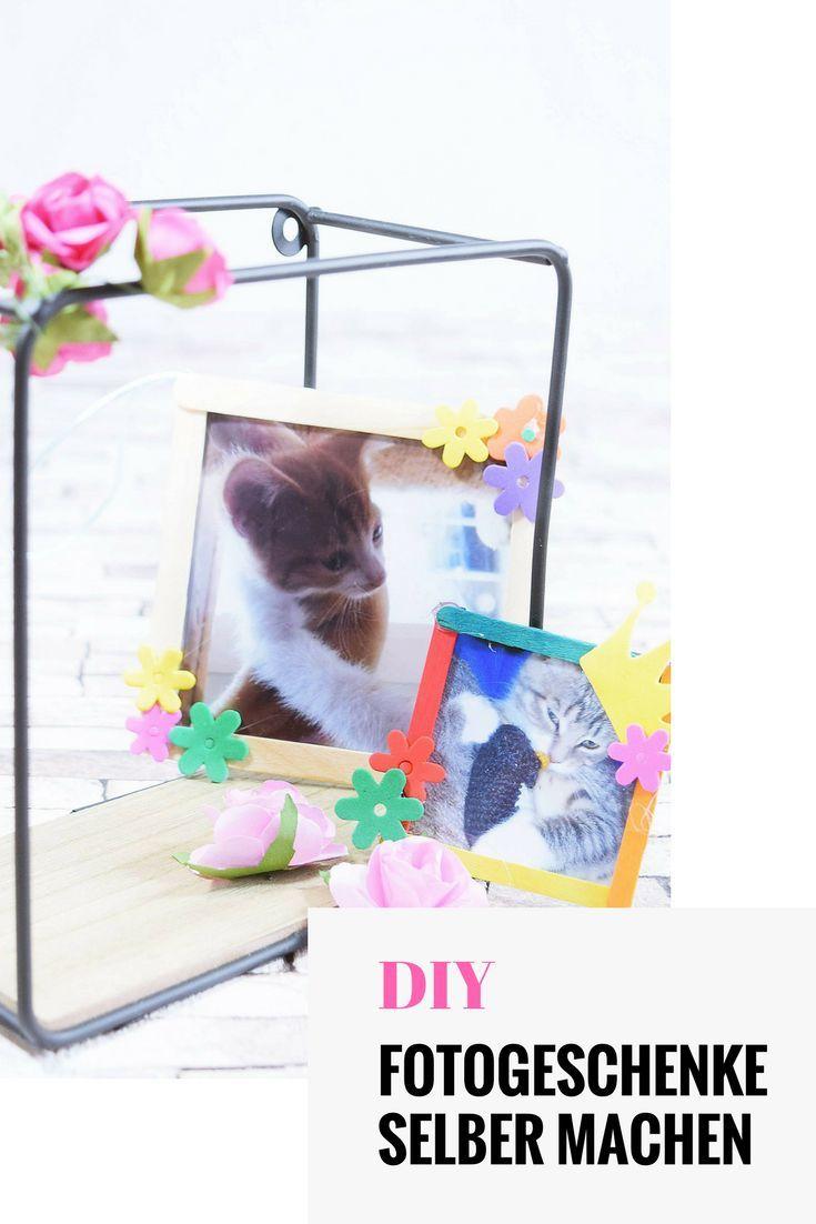 fotos verschenken - diy ideen für tolle fotogeschenke
