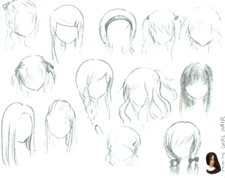 #anime #Cute #Easy Hairstyles drawing #Wie #zeichnen #anime