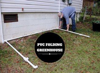 Folding PVC Greenhouse