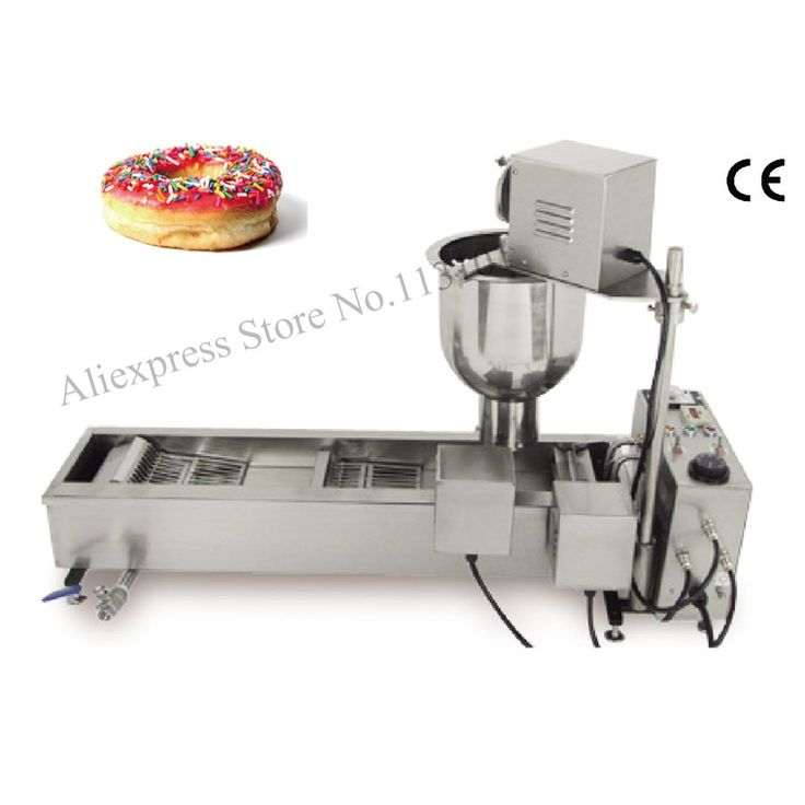 819.57$  Buy here - http://aliine.worldwells.pw/go.php?t=32657014497 - Donut Fryer Machine 110V 220V Automatic Donut Machinery Electric Cake Commercial Donut Maker 819.57$