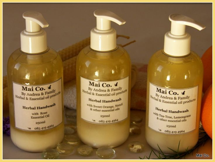 Mai Co.'s Herbal Handwash range in frangrances of Lavender & Neroli, Sweet Orange & Neroli, Rose, Tea-tree & Lemongrass are a must for every home, bathroom and kitchen.