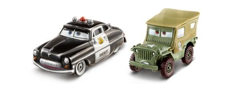 17 best images about cars radiator springs collection 2014 for Sarge automobiles garage serus