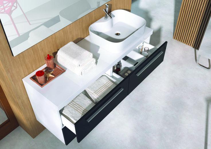 #black #elita #meble #elitameble #lazienka #kwadro #bathroom #furniture