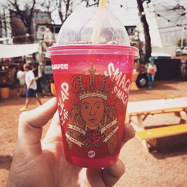 Beyoncé 711 Slurpee cup.