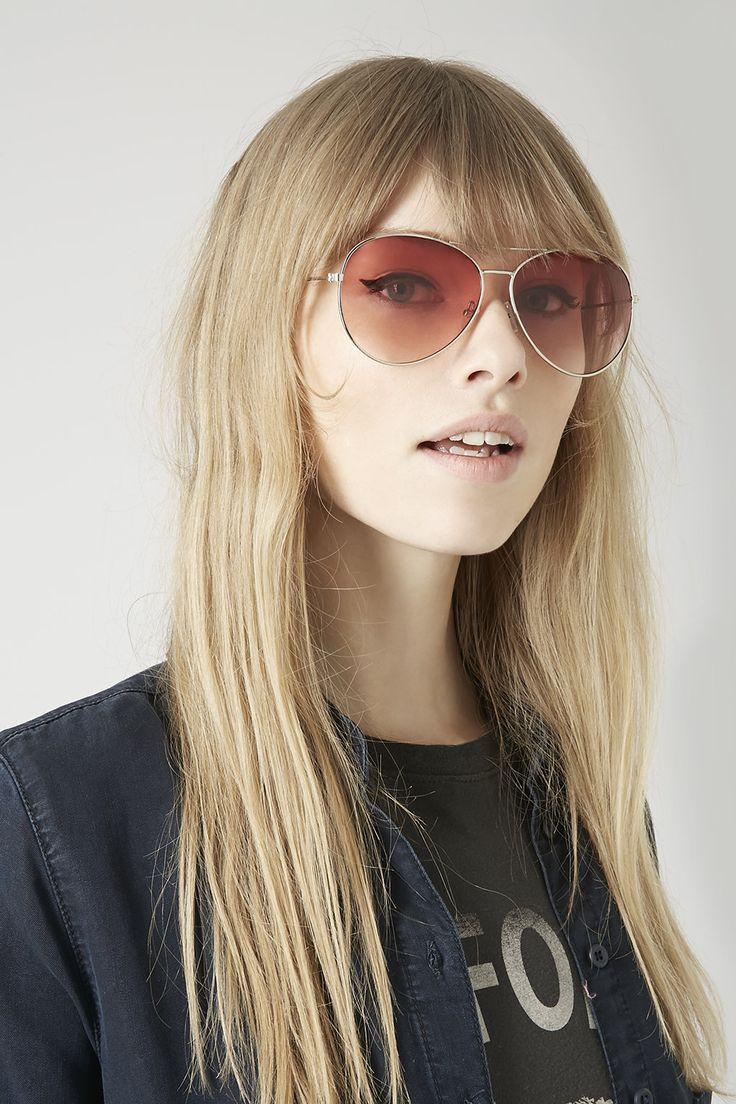 Modne okulary przeciwsłoneczne z sieciówek, Topshop, 12£, fot. mat. prasowe