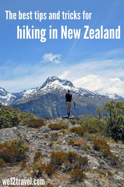 All our best tips and tricks for hiking in New Zealand - from the best short hikes to the best multi-day treks! Plus a list of other cool outdoor activities and how to prepare for hiking in New Zealand -> check our blog for lots of hiking inspiration!