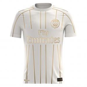 31761f9f1ac 2018-19 Cheap Jersey PSG Away Replica White Shirt  CFC52