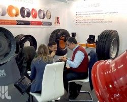 A first time exhibitor at EIMA 2016, displayed its wheels and axles on the stand. The products represented a scope of production capacities of the company.