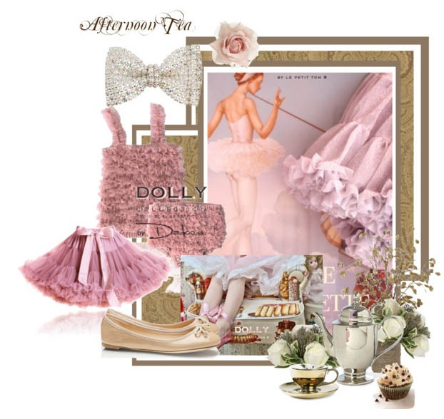 ruffles ruffles...so romantic! Combine DOLLY pettiskirt with twiggy set.
