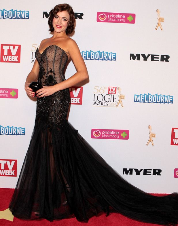 Really loved Demi Harman's 2014 Logies dress