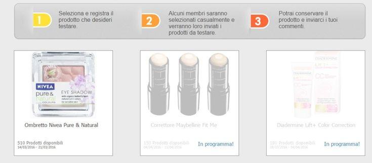 """Diventa #tester su #Toluna con """"Testa i prodotti"""": ricevi a casa #campioniomaggio :)"""