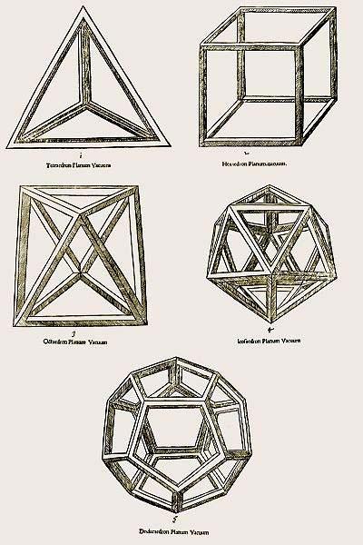 Euclide & Platonic solids