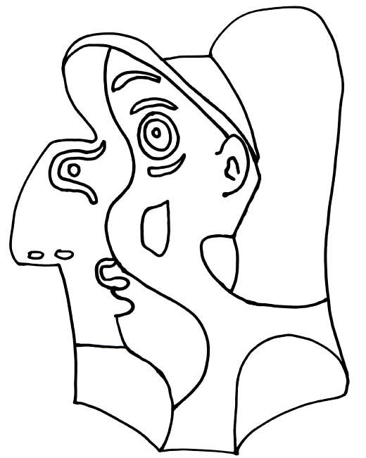 book how to draw like picasso