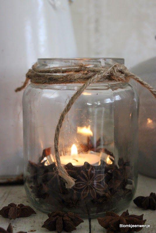 Blomkje en Wenje #candlelight #aniseed