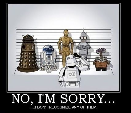 No, I'm sorry . . . I don't recognize any of them! | From ...