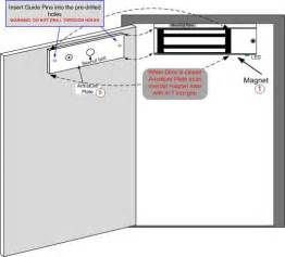 Search Magnetic door lock installation instructions. Views 8292.