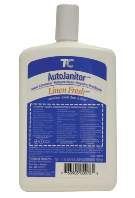 Cleaner & Deodorizer refill AutoJanitor: Toilets and Urinals foaming cleaner