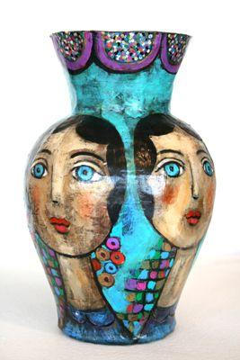 VASE WITH FOUR FACES, MARY ZARBANO