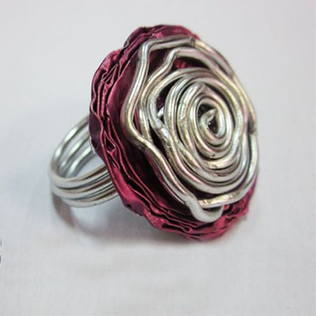 So following on from our feature on recycling nespresso cups and how to use those nespresso foil cups, here is a project that shows how to make a nespresso ring. http://www.home-dzine.co.za/crafts/craft-nespresso-ring.htm