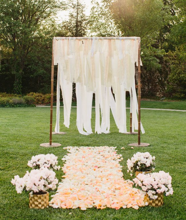 60 Amazing Wedding Altar Ideas Structures For Your: Best 25+ Small Backyard Weddings Ideas On Pinterest