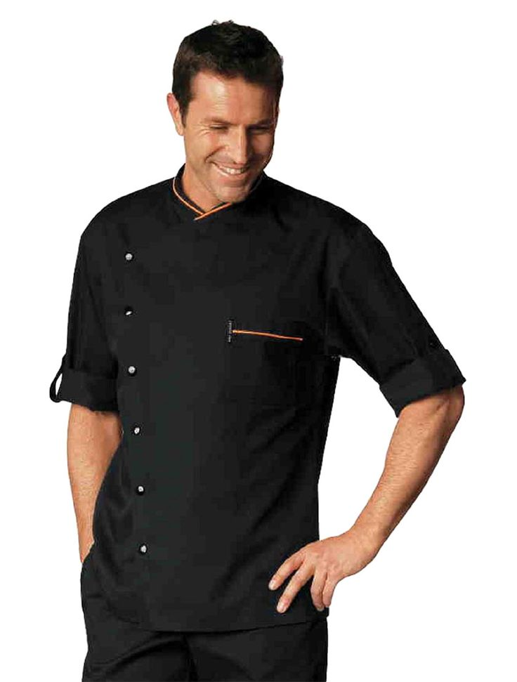 Sometimes a professional kitchen needs a little more oomph than the traditional chef whites allow-- sometimes you need a little spice. Bragard understands this and has created the Chicago Chef Jacket