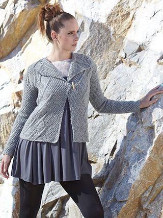Design from Wool Rich Aran Book (471) - 22 textured knits for women and men in NEW YARN! Sirdar Wool Rich Aran | English Yarns