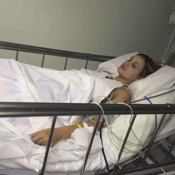 Imagens fortes: fotos de A. Urach no hospital são divulgadas