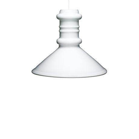 Lampe: Apoteker Pendel Taklampe Designer: Sidse Werner Leverandør: Holmegaard År: 1981