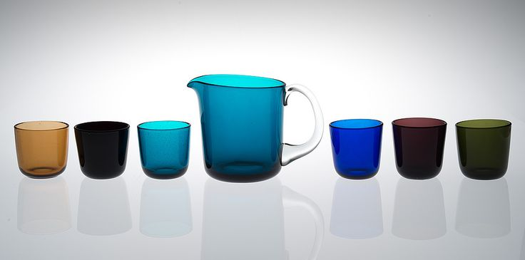 KAJ FRANCK, JUICE SET. Nuutajärvi, designed in 1954.