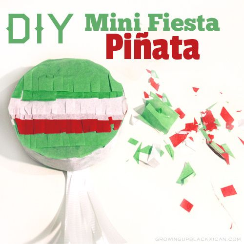 Easy craft to make with kids to celebrate mexican culture. Make this DIY mini piñata with your kids.