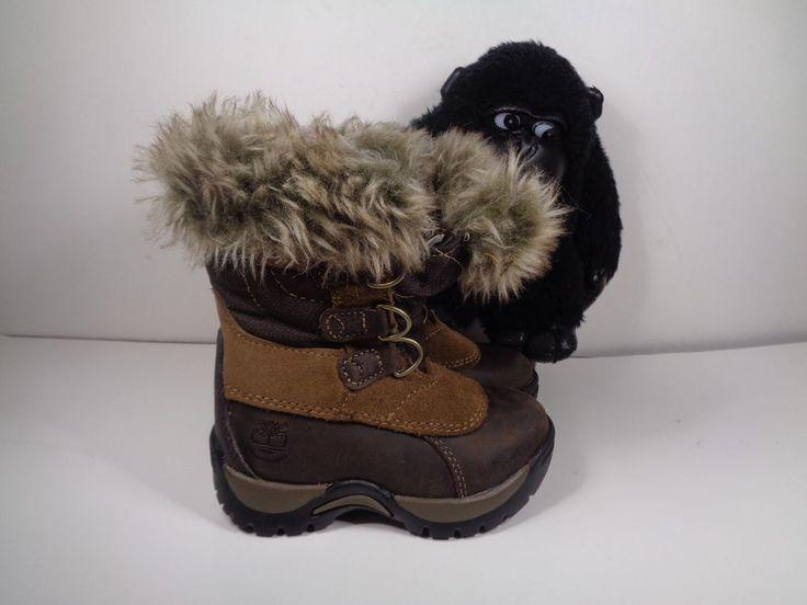 Babies Timberland toddler boots 1491 Primaloft size 5 Toddlers #Timberland